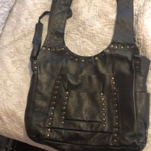 Black barely worn handbag